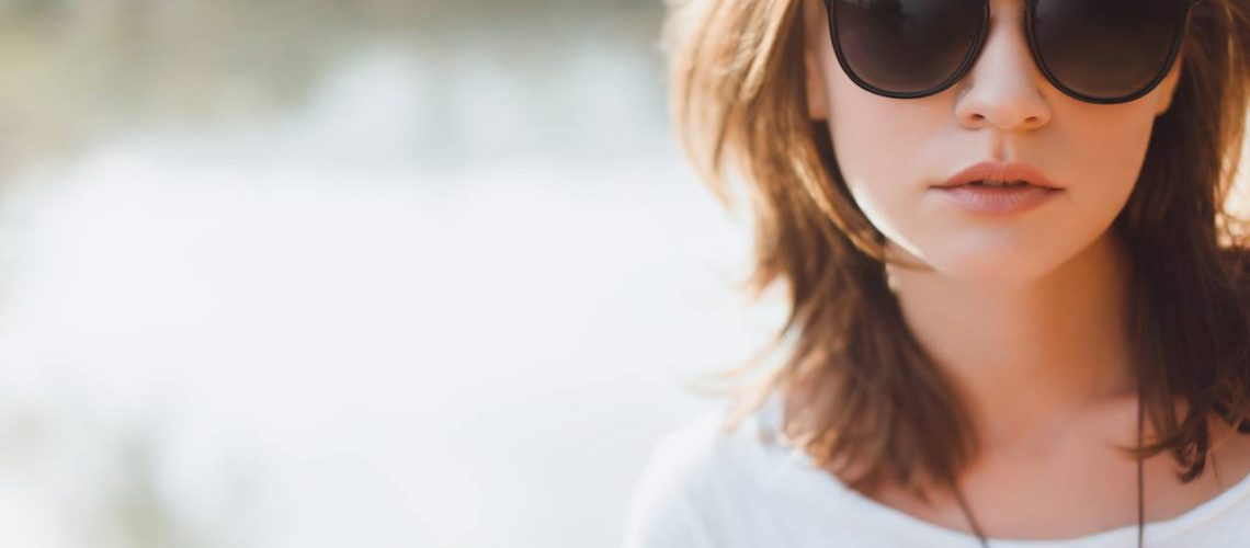 Girl with awesome sunglasses